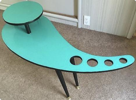 mid century modern style coffee table
