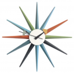 George Nelson -Multicolored Sunburst Clock