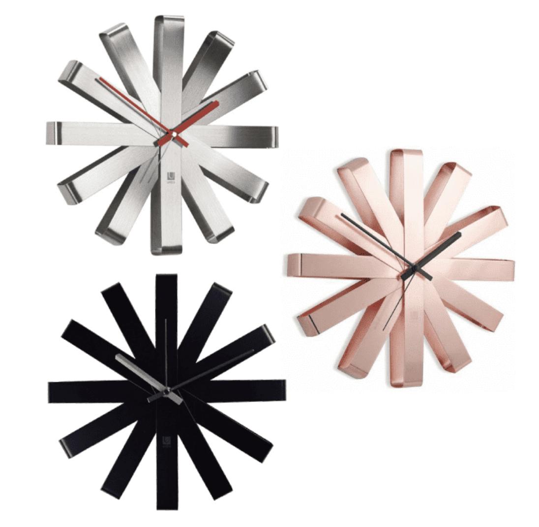 Mid-Century Modern Atomic Clock