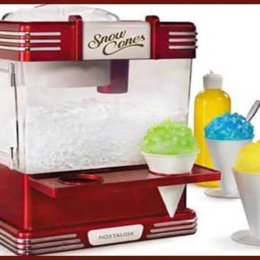 How to Make a Snow Cone Recipe in Your Own Kitchen | Nostalgia RSM602 Cone Machine | Review