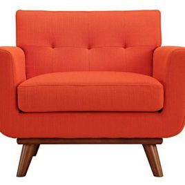 Modway  Engage Mid-Century Modern Upholstered