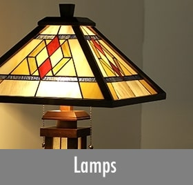Mission Style Lamps