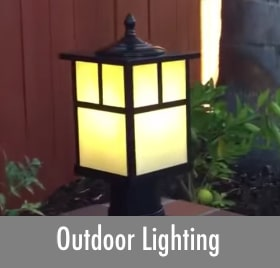 Mission Style Outdoor Lighting