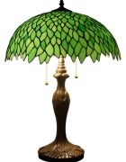 Green Tiffany Style Desk Lamp for your Home Office